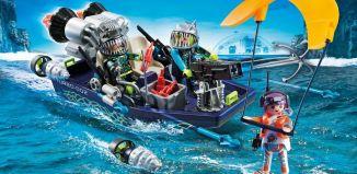 Playmobil - 70006 - TEAM S.H.A.R.K. Harpoon Craft