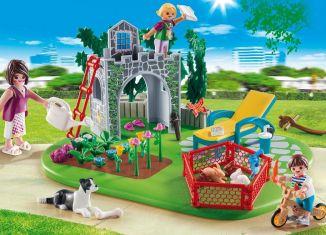 Playmobil - 70010 - SuperSet Family Garden