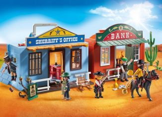 Playmobil - 70012 - My Take Along Western City