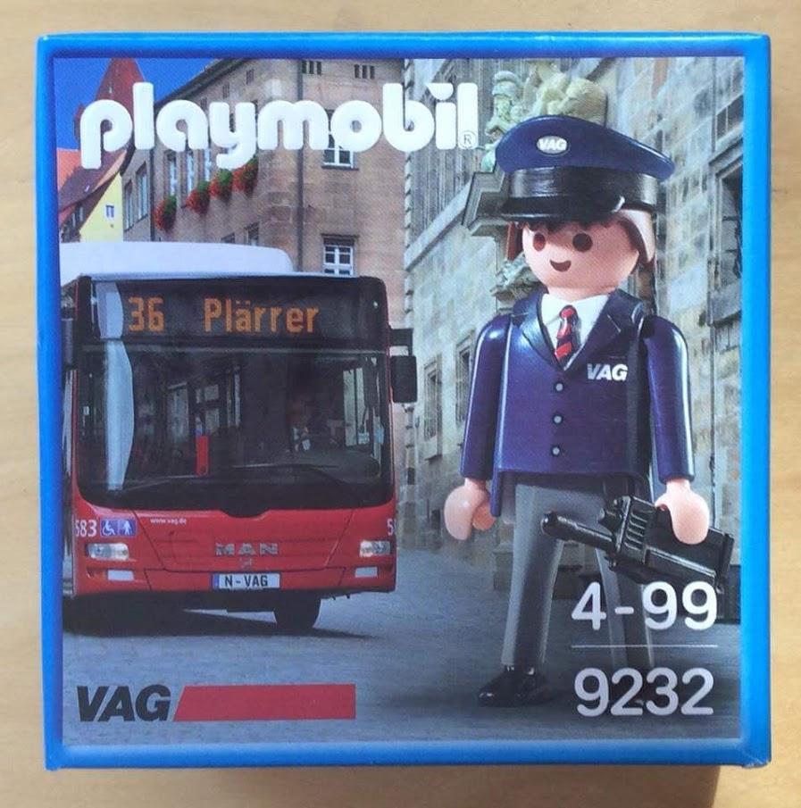 Playmobil 9232-ger - Bus driver - Box
