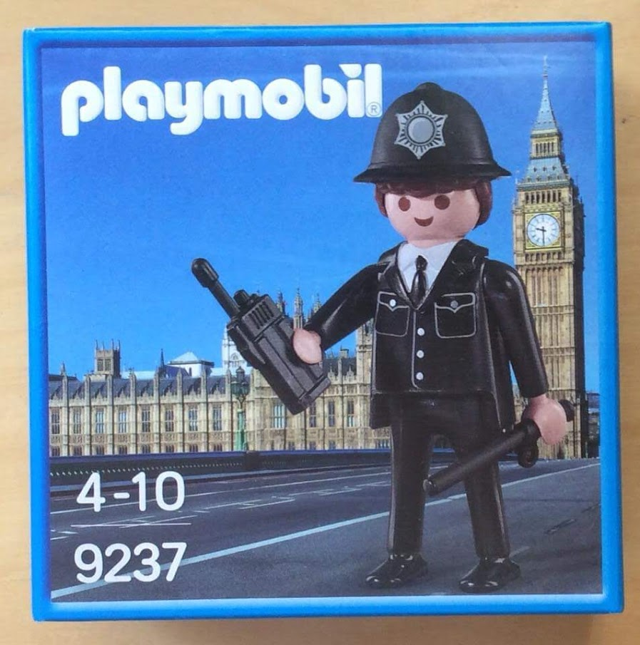 Playmobil 9237-ukp - Brittish Bobby - Box