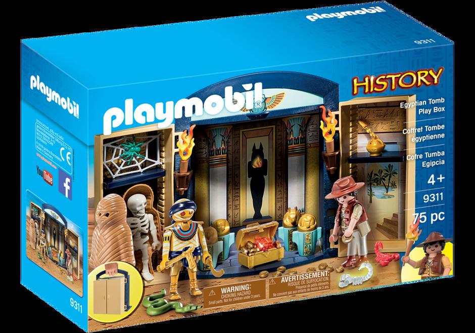 Playmobil 9311-usa - Egyptian Tomb Play Box - Box