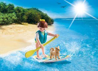 Playmobil - 9354 - Paddle surf girl