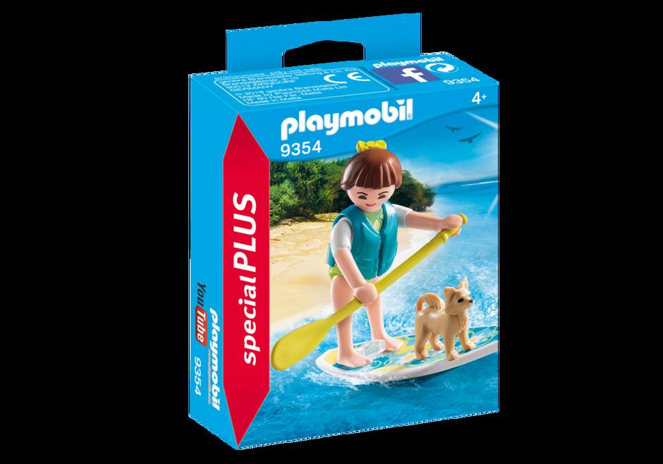 Playmobil 9354 - Paddle surf girl - Box
