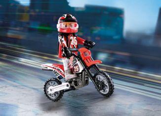 Playmobil - 9357 - Motocross Rider