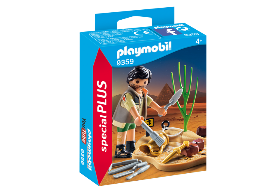 Playmobil 9359 - Archaeological excavation - Box