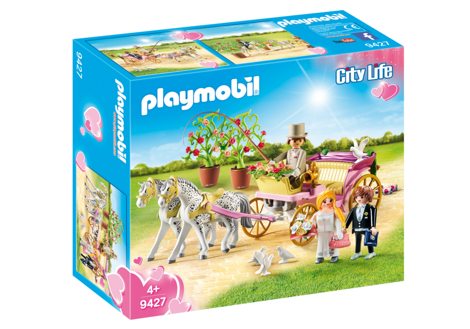 Playmobil 9427 - Hochzeitskutsche - Box