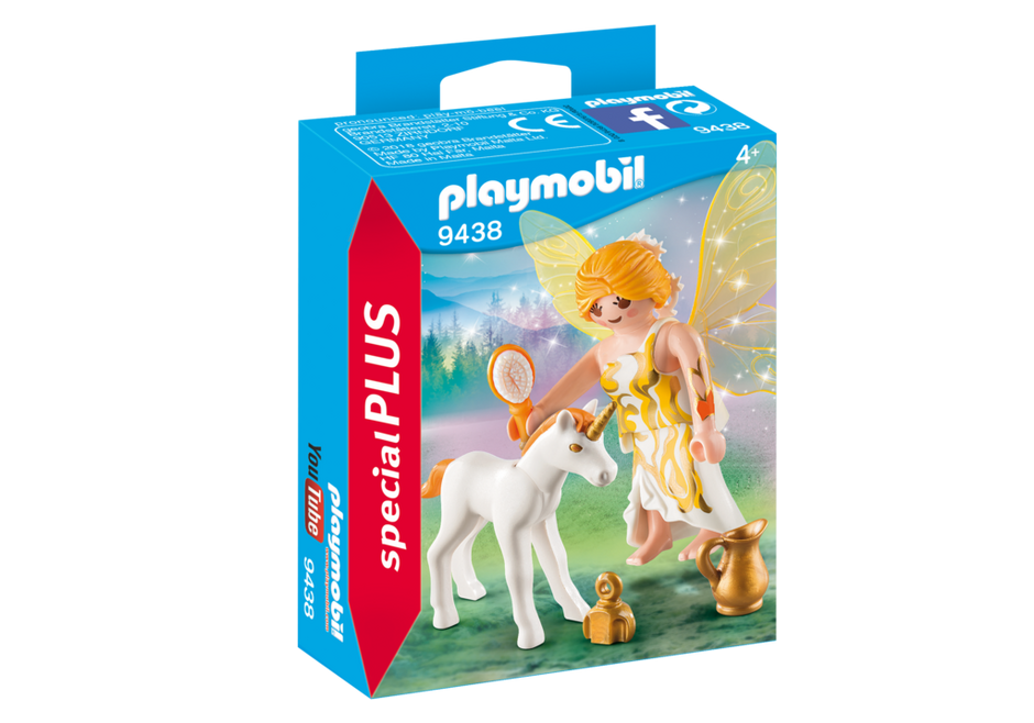 Playmobil 9438 - Sun Fairy and Unicorn - Box