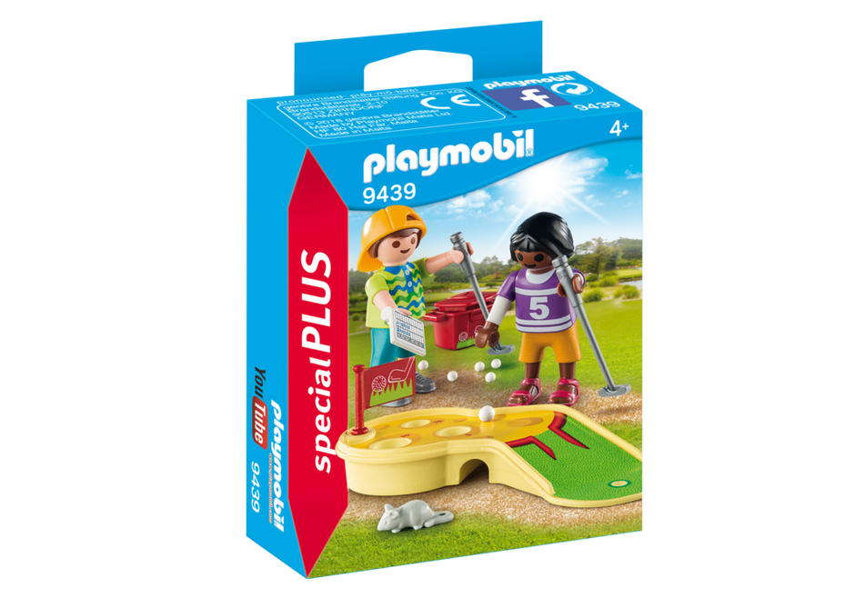 Playmobil 9439 - Children's Mini Golf - Box