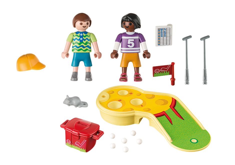 Playmobil 9439 - Children's Mini Golf - Back