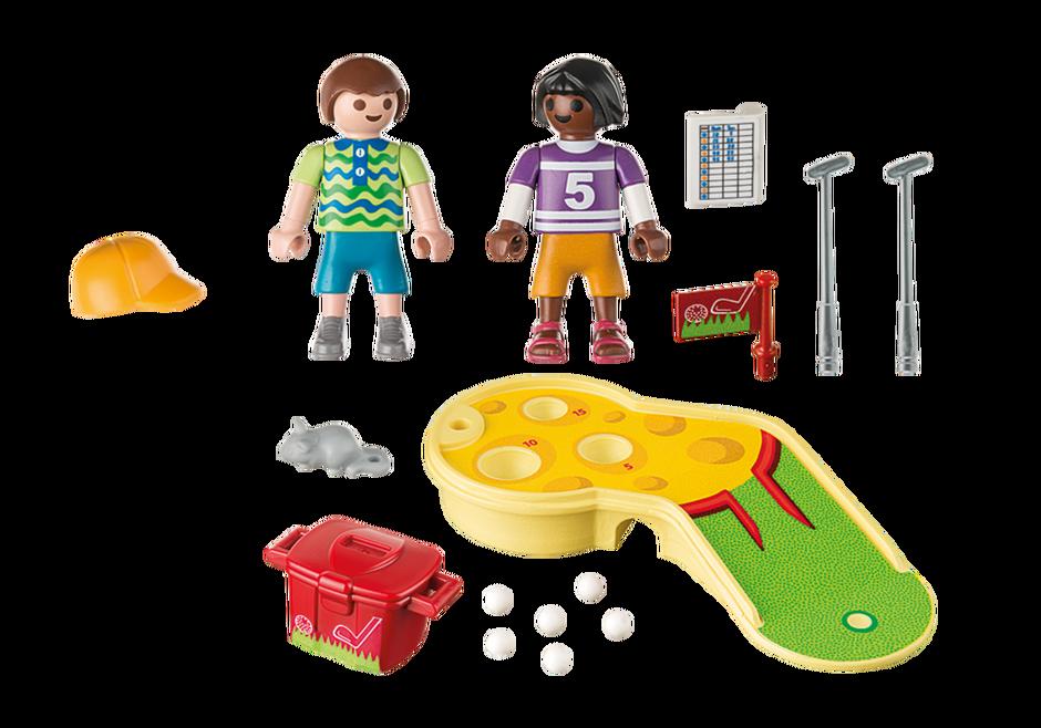 Playmobil 9439 - Children's Mini Golf - Back
