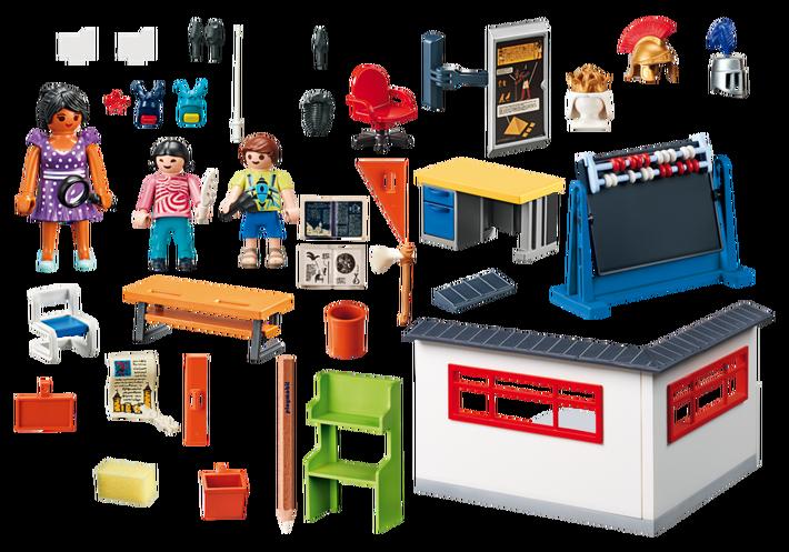 Playmobil 9455 - History Class - Back