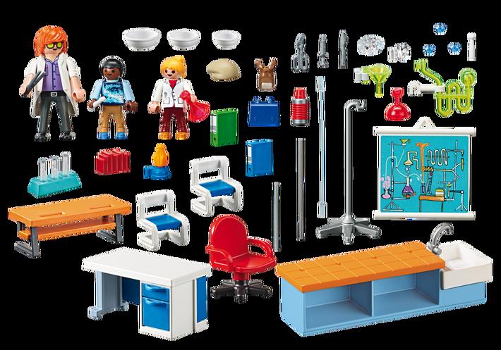 Playmobil 9456 - Chemistry Class - Back