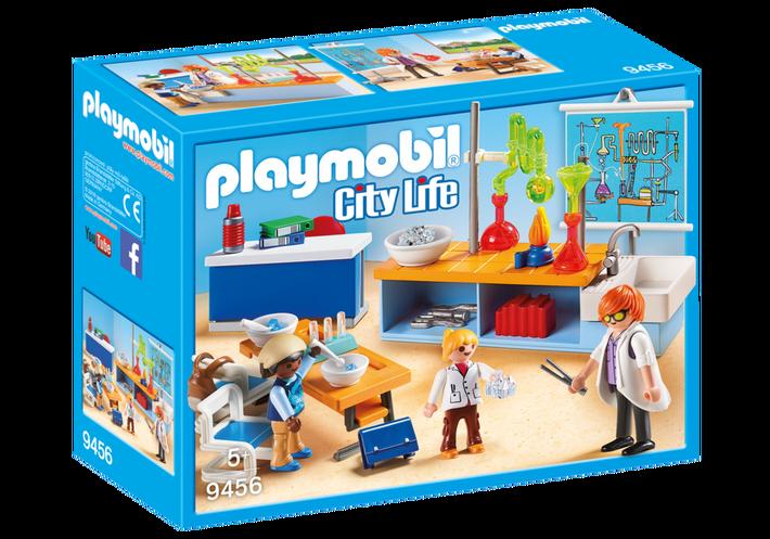 Playmobil 9456 - Chemistry Class - Box