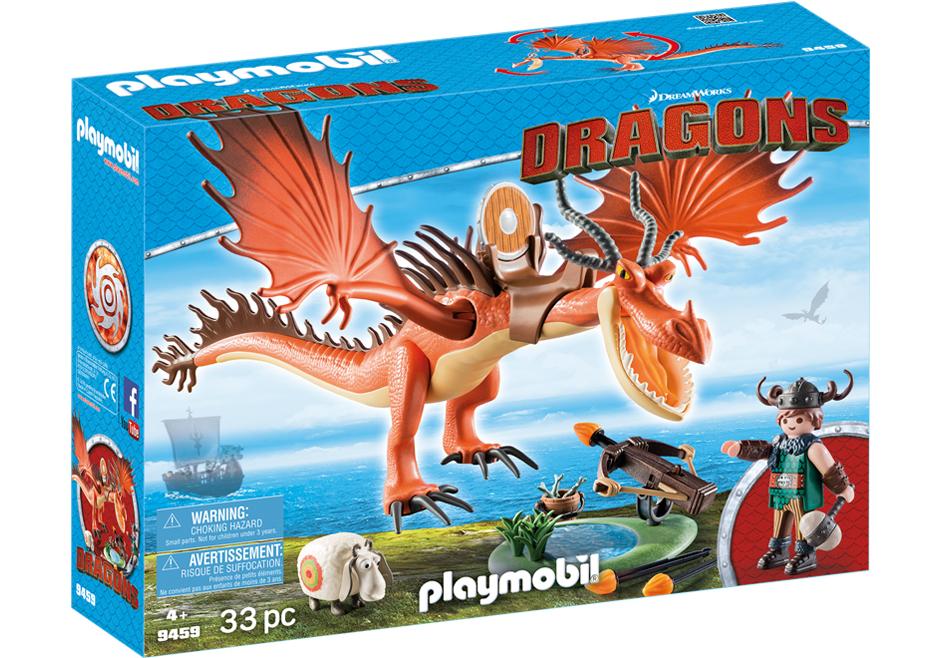 Playmobil 9459 - Snoutlout & Hookfang - Box
