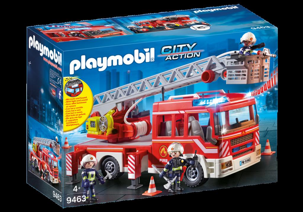 Playmobil 9463 - Fire Ladder Truck - Box