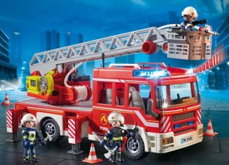Playmobil - 9463 - Fire Ladder Truck