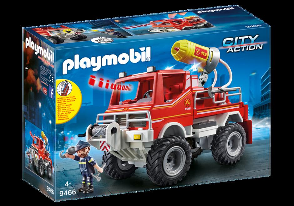 Playmobil 9466 - Fire Truck - Box