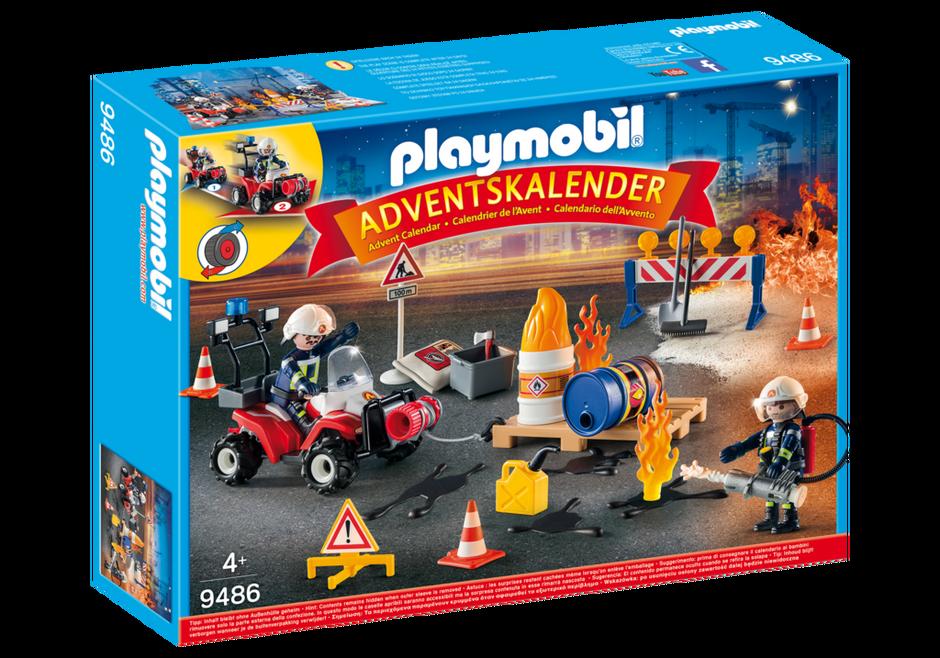 Playmobil 9486 - Advent Calendar Fire Brigade - Box