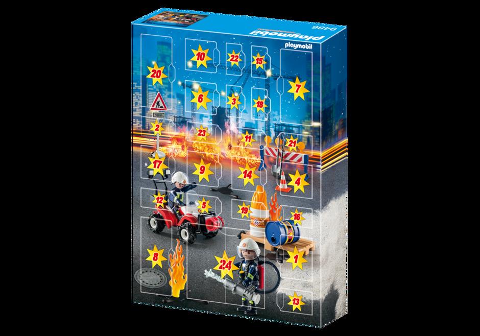 Playmobil 9486 - Advent Calendar Fire Brigade - Back