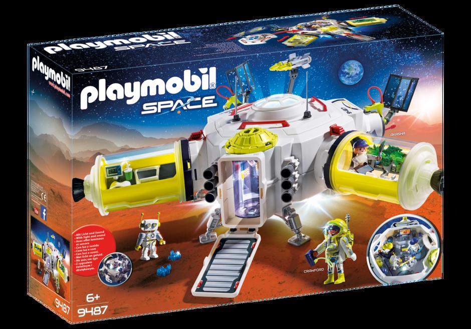 Playmobil 9487 - Mars Station - Box
