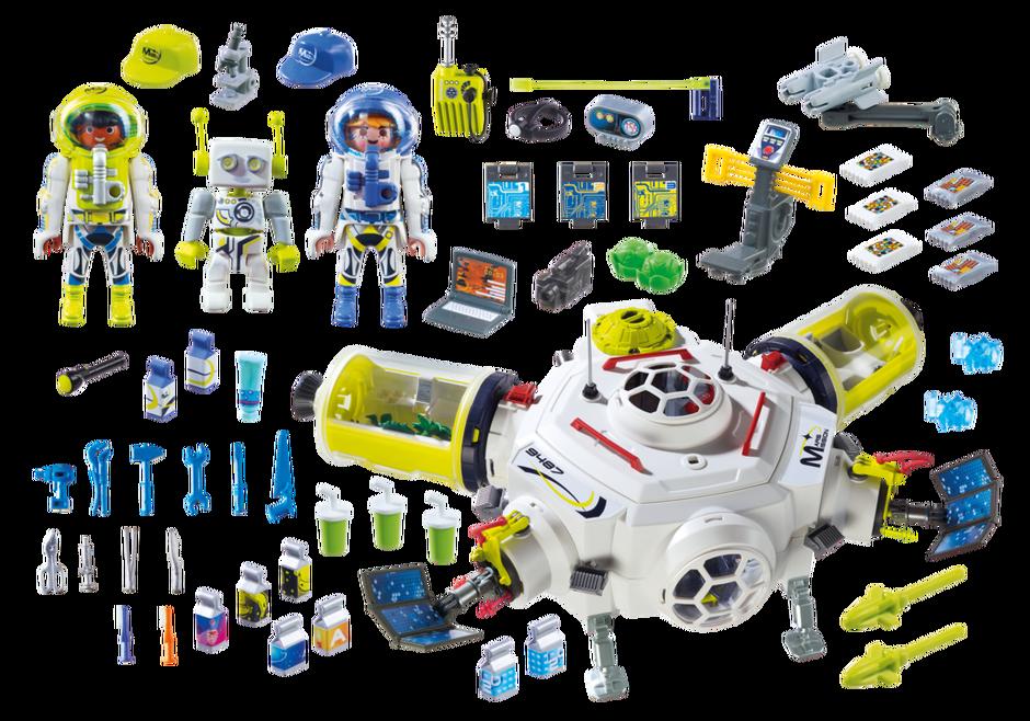 Playmobil 9487 - Mars Station - Back