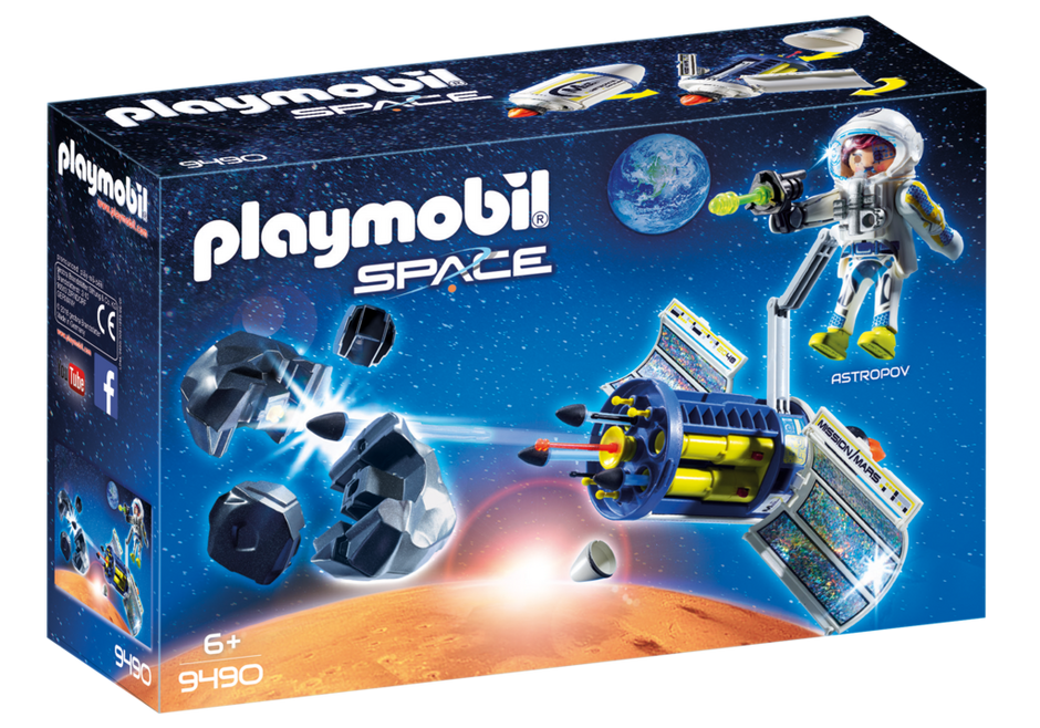 Playmobil 9490 - Mars Meteor Blaster - Box