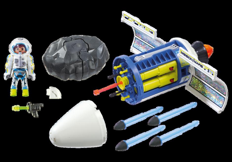 Playmobil 9490 - Mars Meteor Blaster - Back