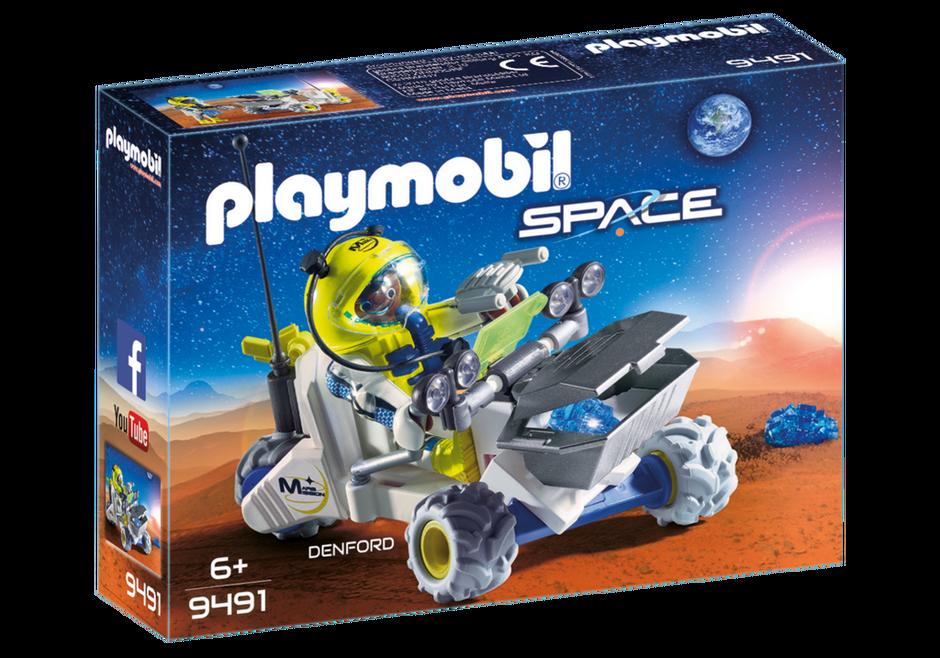 Playmobil 9491 - Mars Trike - Box