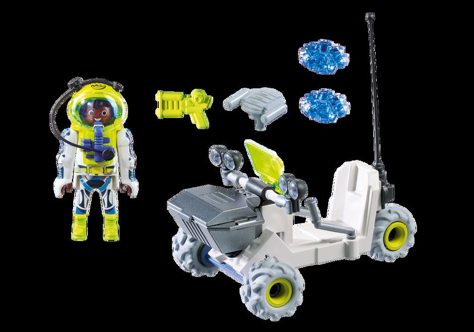 Playmobil 9491 - Mars Trike - Back