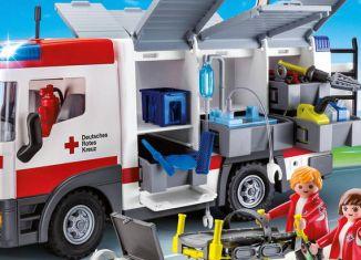 Playmobil - 9536-ger - DRK-Gerätewagen