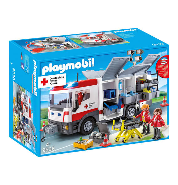 Playmobil 9536-ger - DRK-Gerätewagen - Box