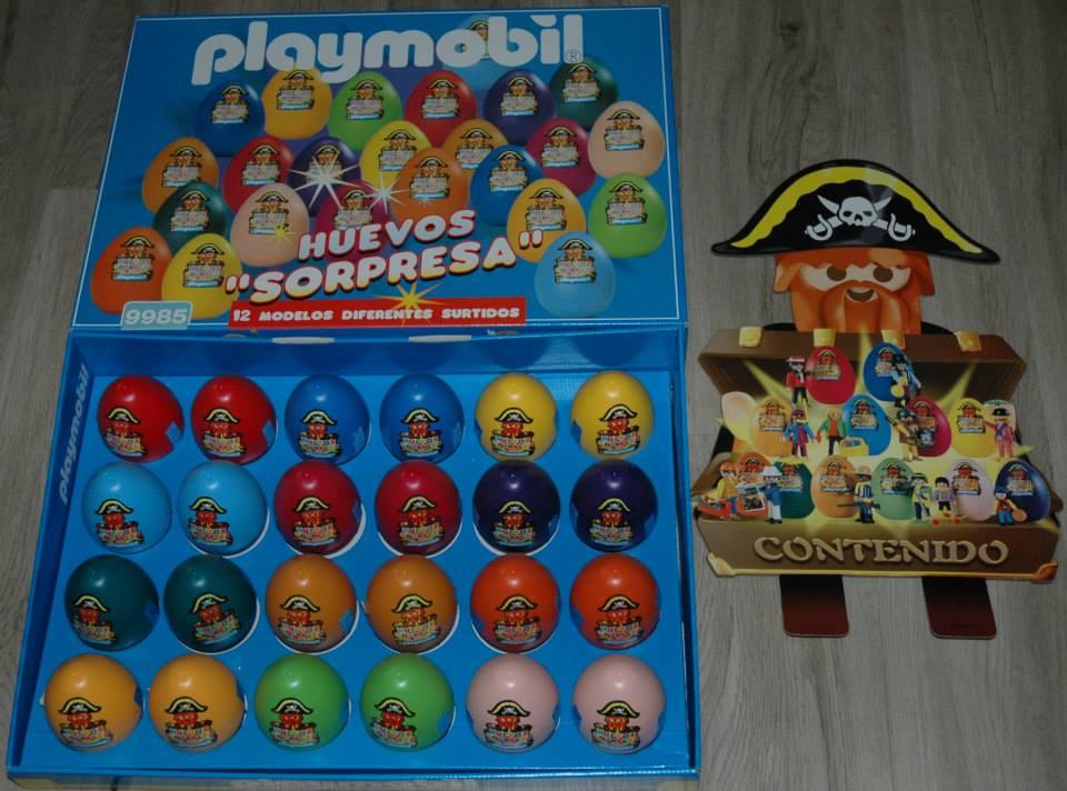 Playmobil 9985-esp - Surprise Eggs - Back