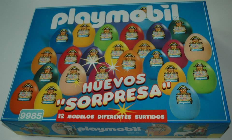 Playmobil 9985-esp - Surprise Eggs - Box