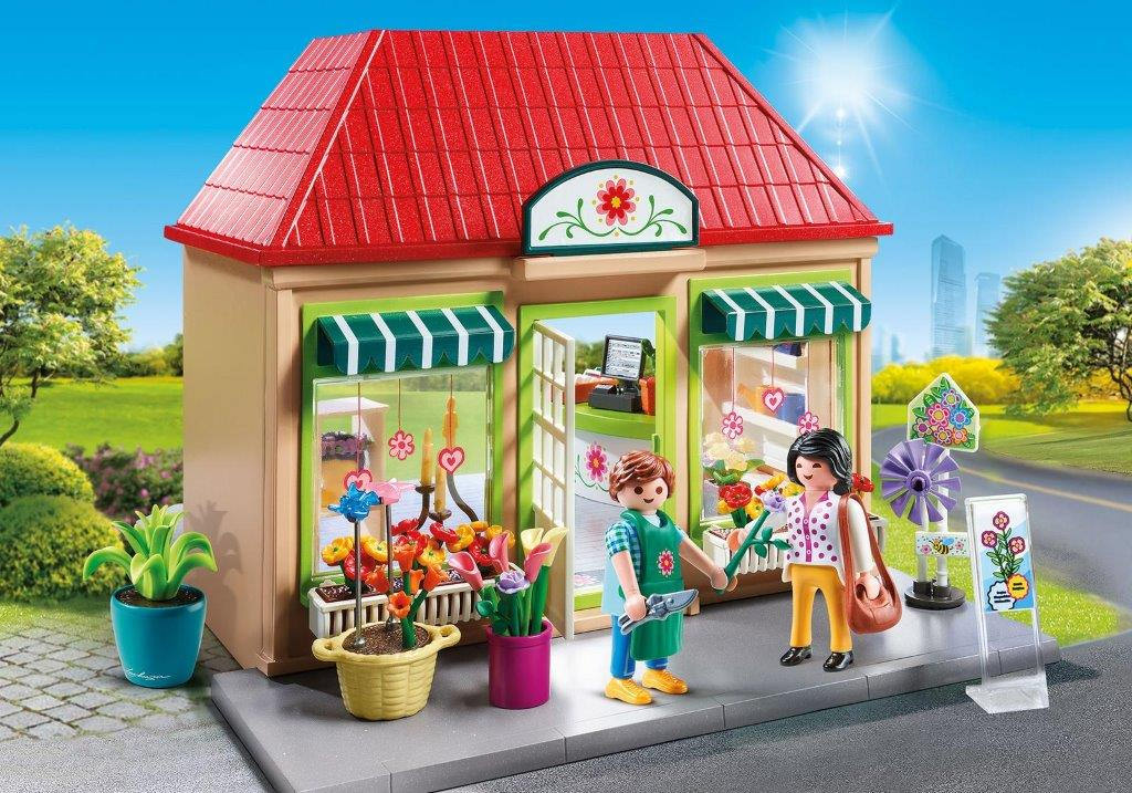 Playmobil - 70016 - My flower shop