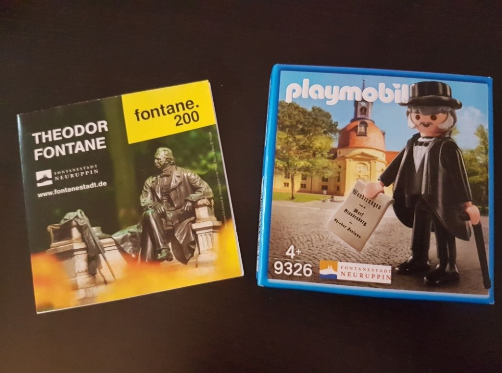 Playmobil 9326-ger - Theodor Fontane - Back