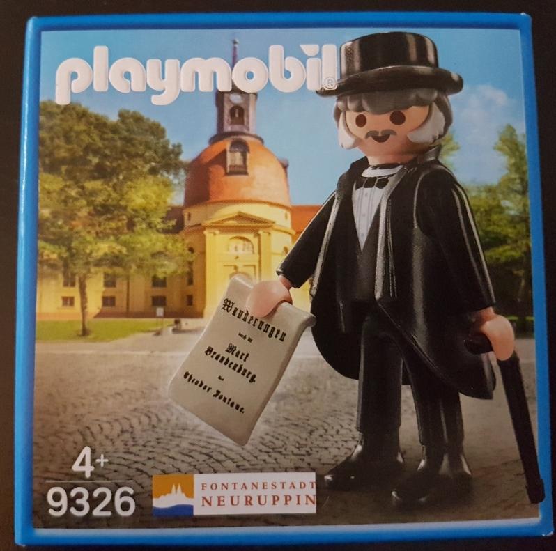 Playmobil 9326-ger - Theodor Fontane - Box