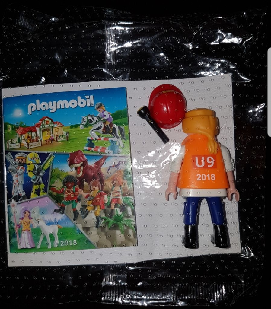 Playmobil 0000-ger - Maintenance Employee BVG (U9, 2018) - Box