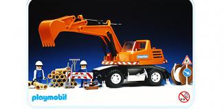 Playmobil - 3472v2 - Backhoe