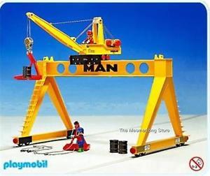 Playmobil 4210v1 - Main Crane - Box