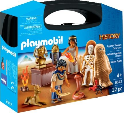 Playmobil 9542 - Egyptian Treasure Carry Case - Box