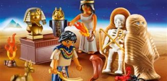 Playmobil - 9542 - Egyptian Treasure Carry Case