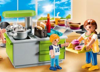 Playmobil - 9543 - Family Kitchen Carry Case