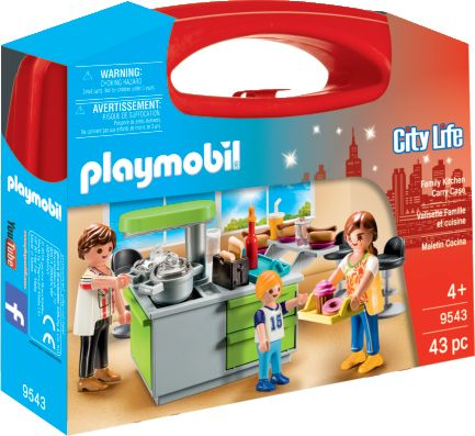 Playmobil 9543 - Family Kitchen Carry Case - Box