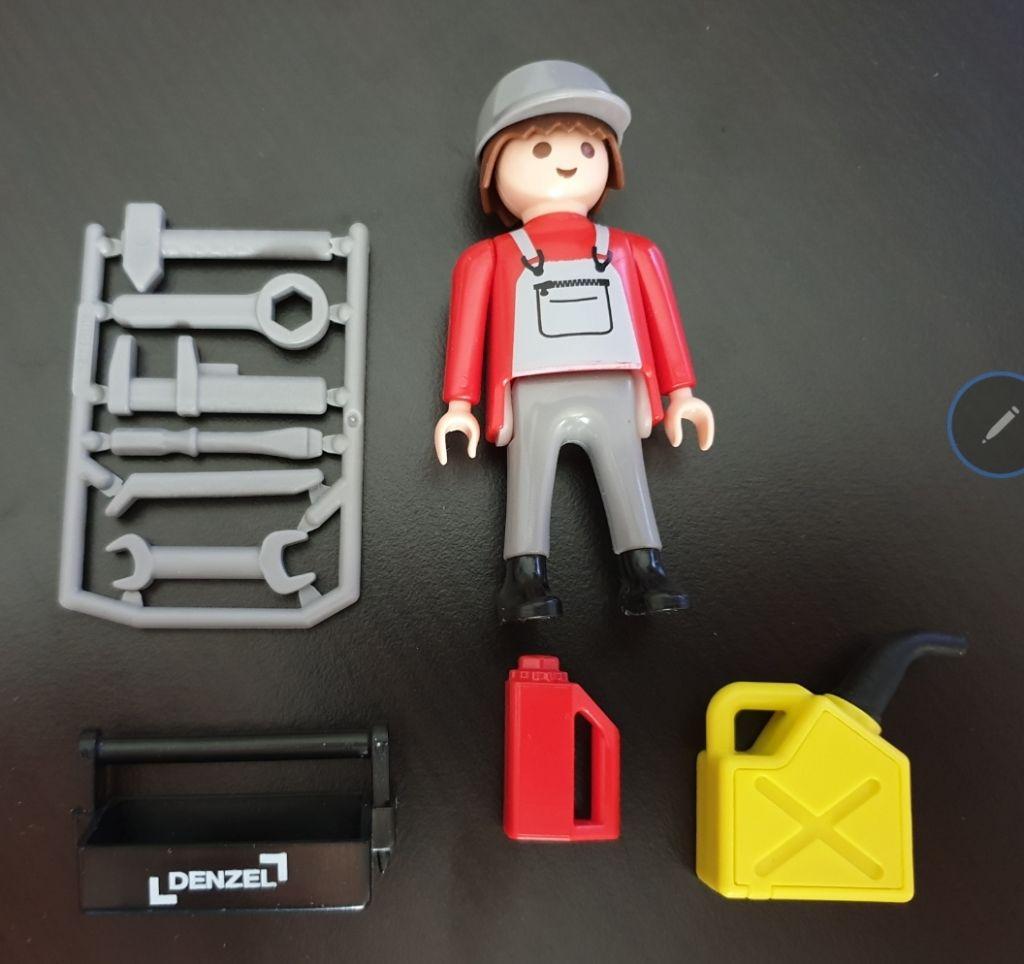 Playmobil 0000-ger - Denzel Promotional - Back