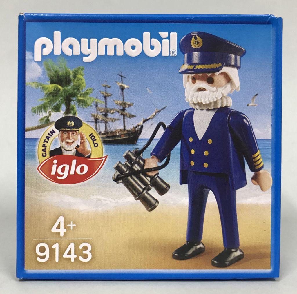 Playmobil 9143 - Captain Iglo - Box