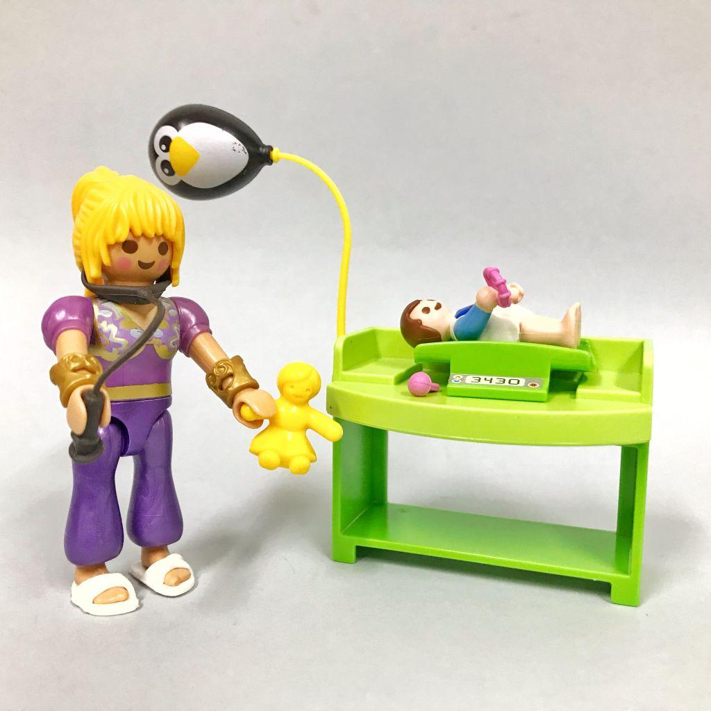 Playmobil 9520-gre - Special Female Pediatrician - Back