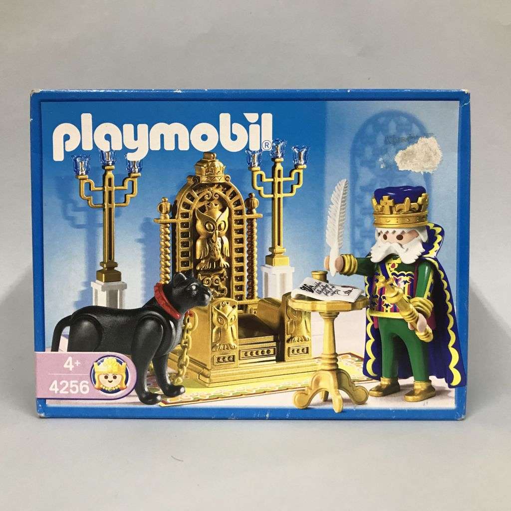 Playmobil 4256 - King with Throne - Box