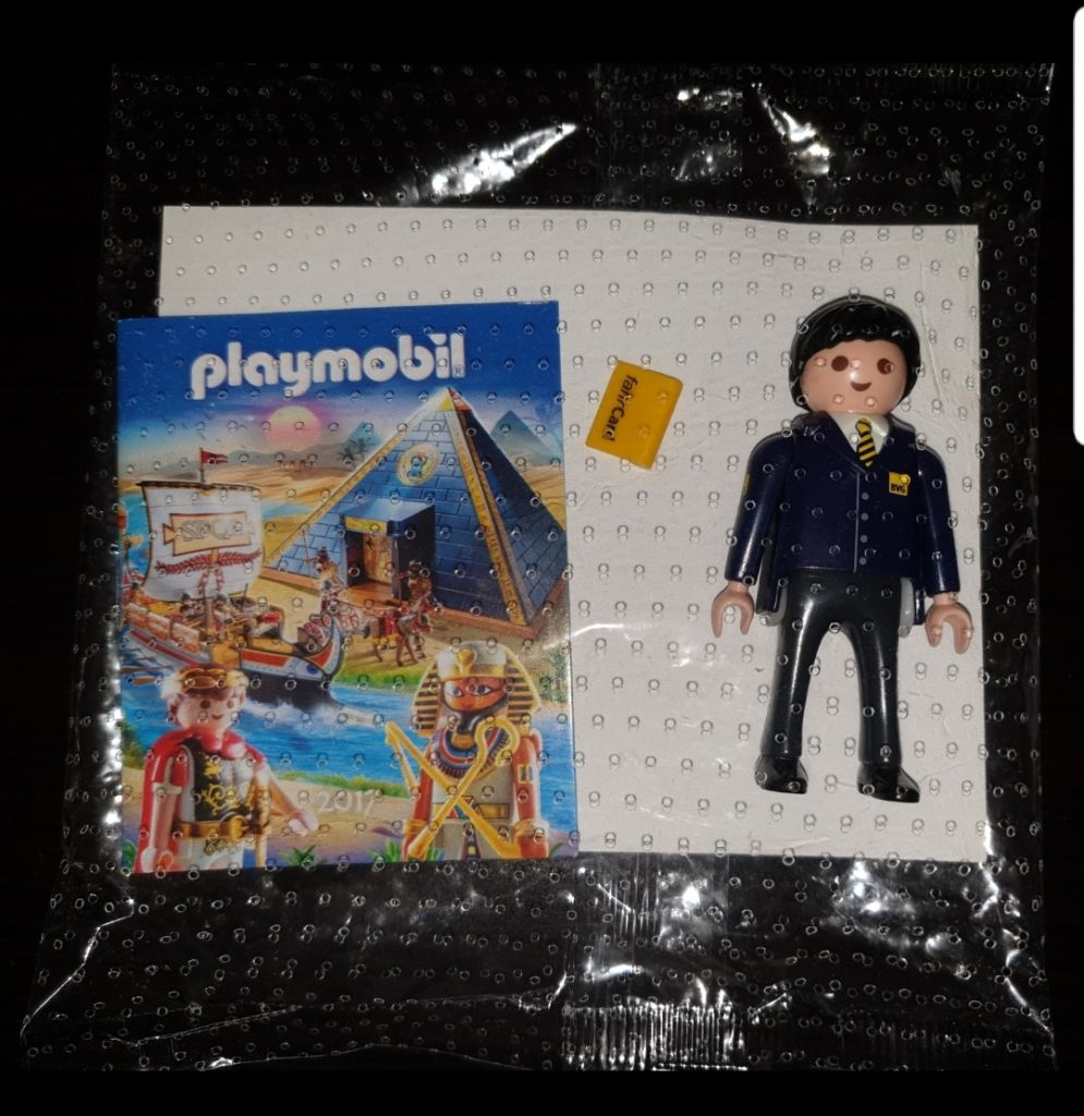 Playmobil 0000-ger - Bus driver BVG (2017) - Box