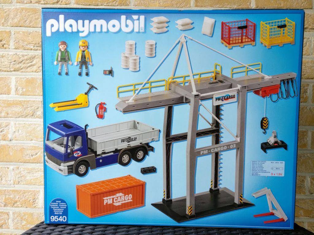Playmobil 9540-ger - Cargo Megaset - Box